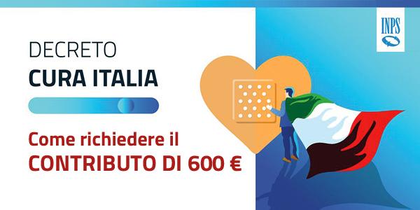 Come richiedere il contributo di 600€